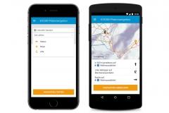 EVOSKI Pistennavigation Smartphone