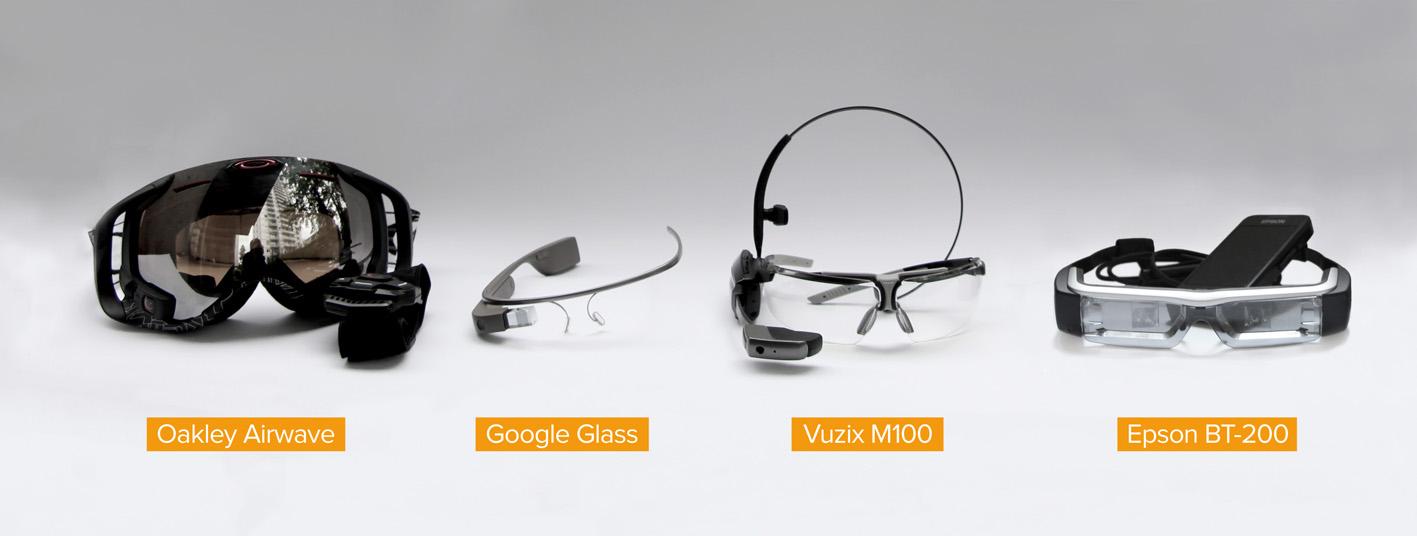 Datenbrillen-Modelle