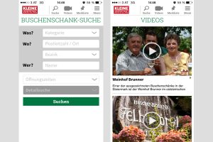Der mobile Buschenschank-Guide für die Steiermark