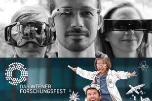 Erkunde Datenbrillen beim Wiener Forschungsfest 2015!