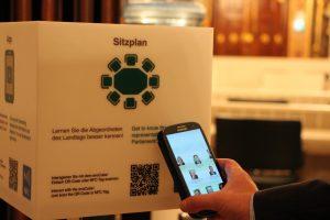 Die Prunkräume des Landtags mit dem Smartphone erkunden