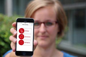 Mittels Beacon und App zur aktuellen Ausgabe der Kleinen Zeitung