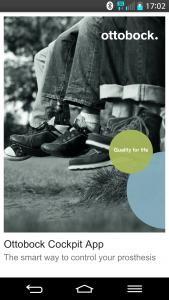 mhealth Pilotprojekt: Fernbedienung für Beinprothesen auf dem eigenen Smartphone