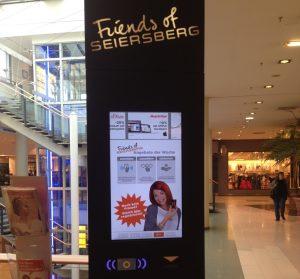 NFC-Bonusprogramm in der Shoppingcity Seiersberg