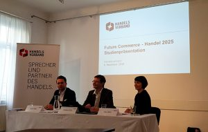 "Pressekonferenz: Handelsverband-Studie ""Future Commerce – Handel 2025"""