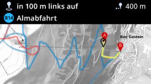 Neues Feature für die Ski amadé App: Pistennavigation in der Daten-Skibrille