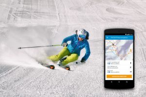 EVOSKI out now!  Einzigartige Turn-by-Turn-Navigation für Skipisten