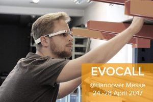 Mit EVOCALL bei der Hannover Messe. 24.-28. April 2017