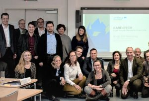 Alpenraum-Konsortium startet Care4Tech Projekt im winterlichen Villach