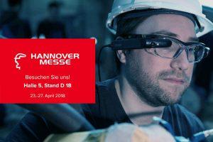 EVOLARIS präsentiert digitale Assistenz-systeme bei der Hannover Messe 2018